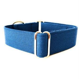 Collar perro AZULON Liso FB-min