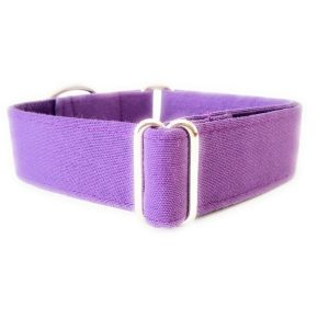 Collar perro LILA Liso FB-min