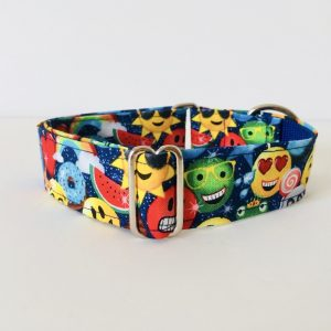 Emoji dog collar 1