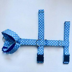 Lunares Azul Arnes Triple-min