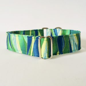 MARTINGALE DOG COLLAR DOG COLLAR DRAGONFLY EMERALD 1