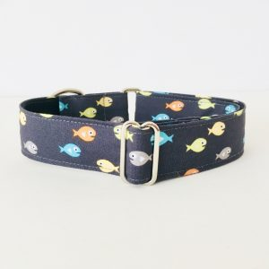 MARTINGALE DOG COLLAR GUPPIES 1