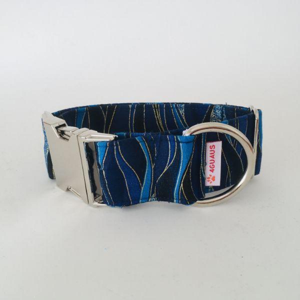 collar perro Libelula Azul Oscuro 4-min