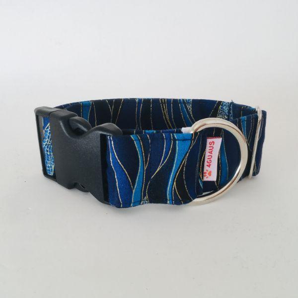 collar perro Libelula Azul Oscuro 6-min