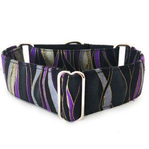 collar perro Libelula Morado y Negro 1 FB-min