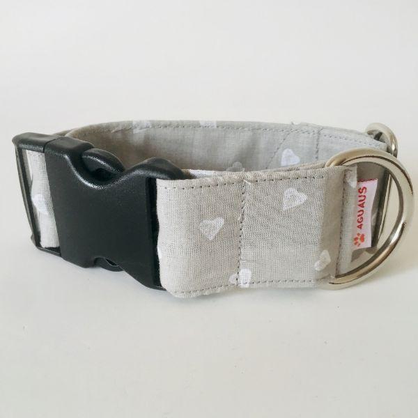 collar perro corazones gris claro 6-min