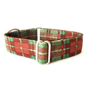 collar perro cuadros escoceses verde FB-min