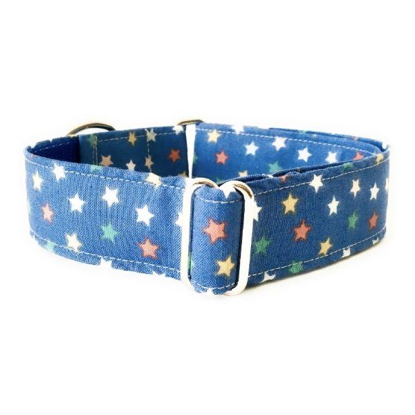 collar perro estrellas azul navidad FB-min