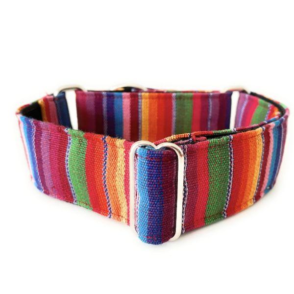 collar perro ethnic arcoiris 1-min