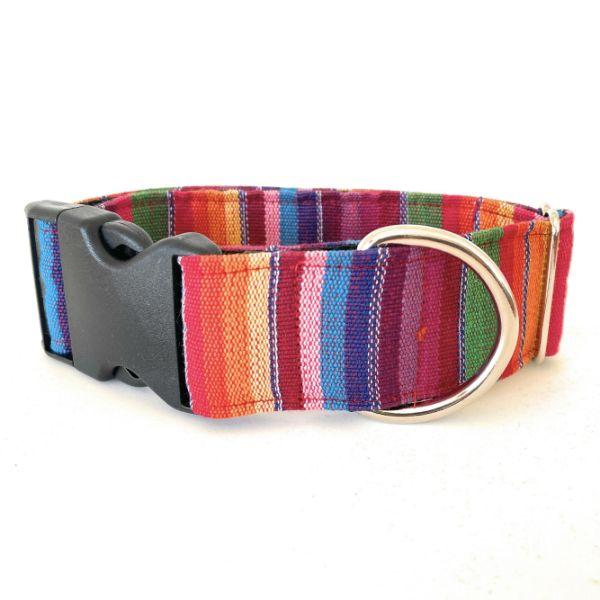 collar perro ethnic arcoiris 3-min