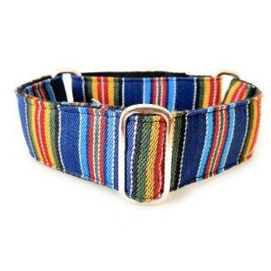 collar perro ethnic azul 1-min