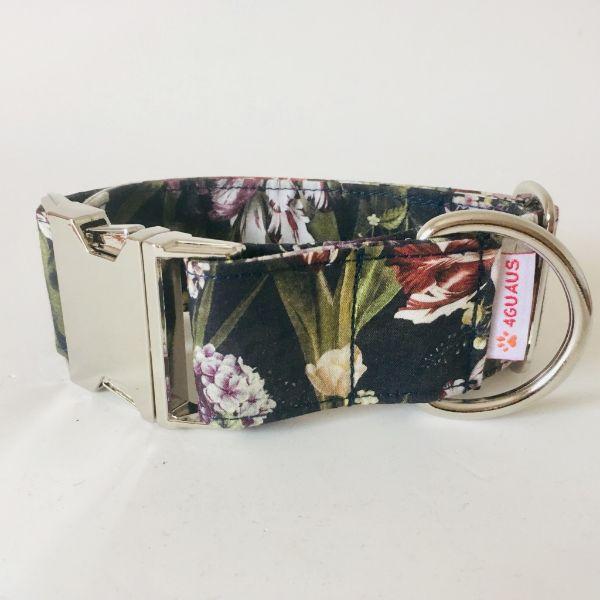 collar perro floral 4-min