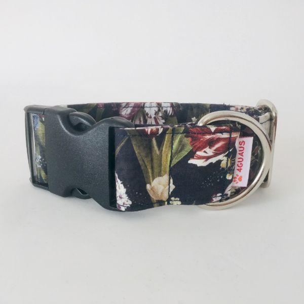 collar perro floral 6-min