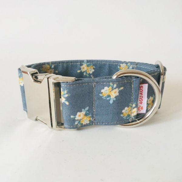 collar perro flores mini 5-min