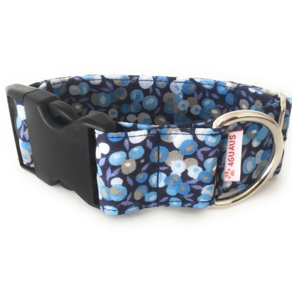 collar perro frutos azul 6-min