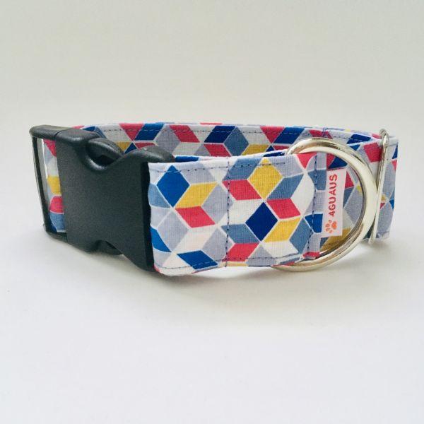 collar perro geometrico azul 6-min