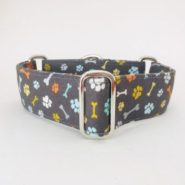 collar perro huellas y huesos 1