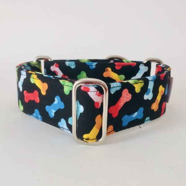 collar perro huesos de colores 1-min