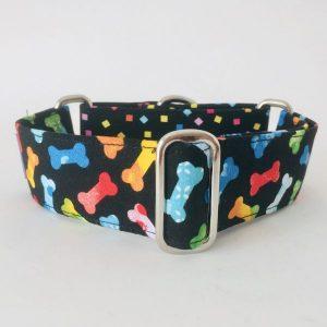 collar perro huesos de colores combinado 1-min