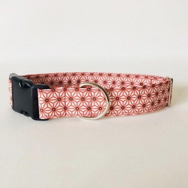 collar perro japan blanco y rojo 3