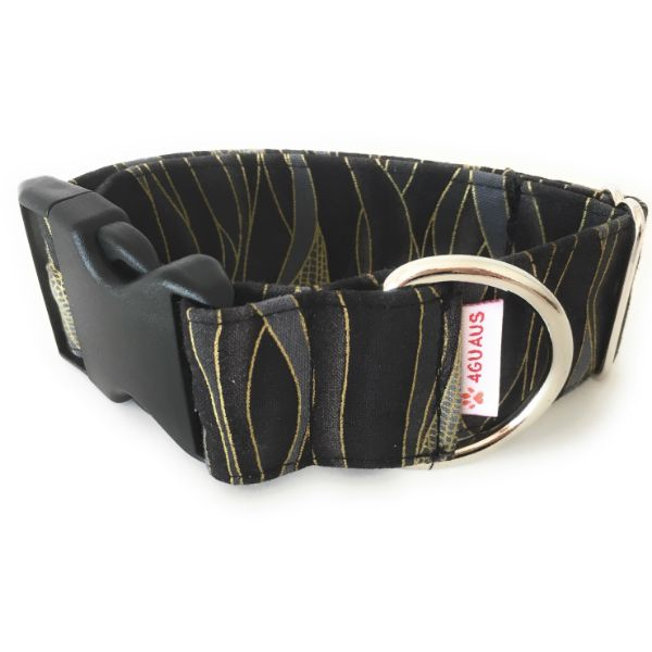 collar perro libelula negro 6-min
