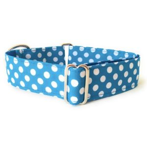 collar perro lunares azul FB-min