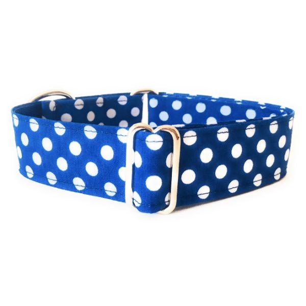 collar perro lunares azulina FB-min