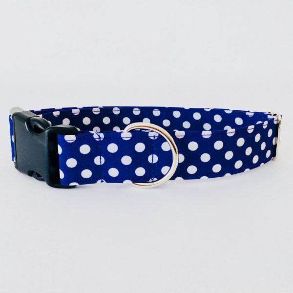 collar perro lunares morado 4