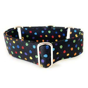 collar perro lunares negro colores 1-min