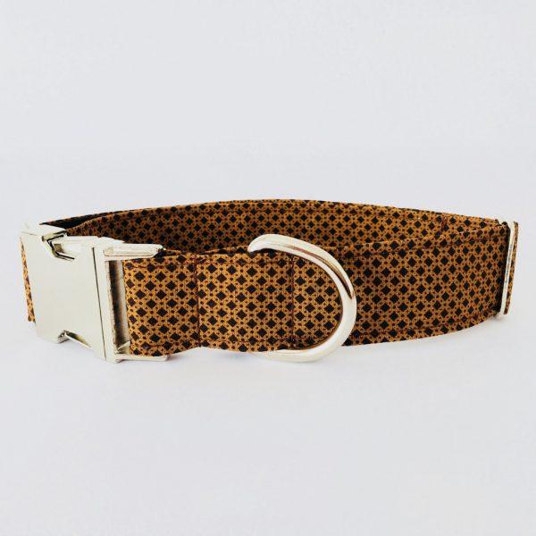 collar perro marron 1