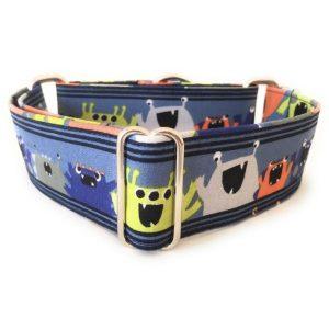 collar perro monstruos azul 1-min