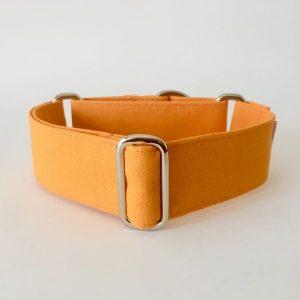 collar perro naranja fluor 1-min