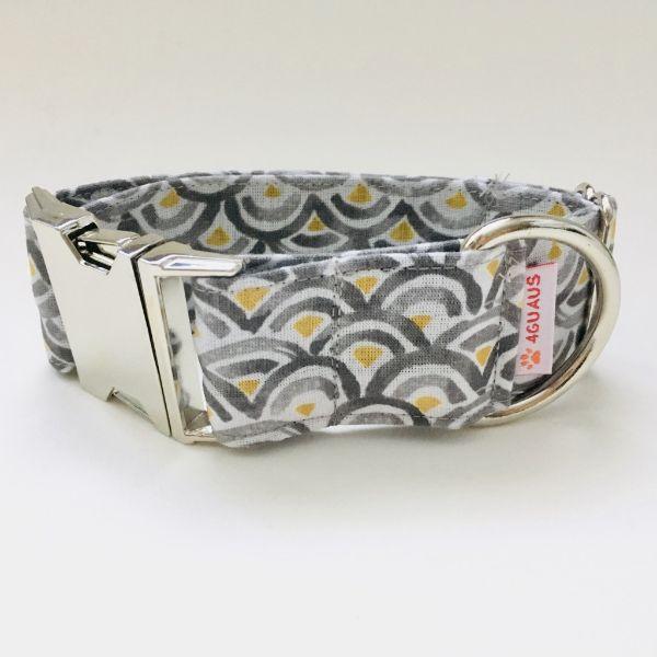 collar perro ondas gris 4-min