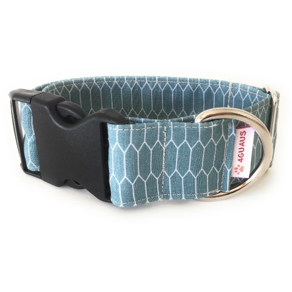 collar perro panales turquesa 6-min