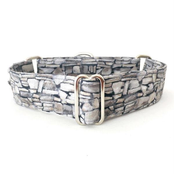 collar perro piedras gris FB-min