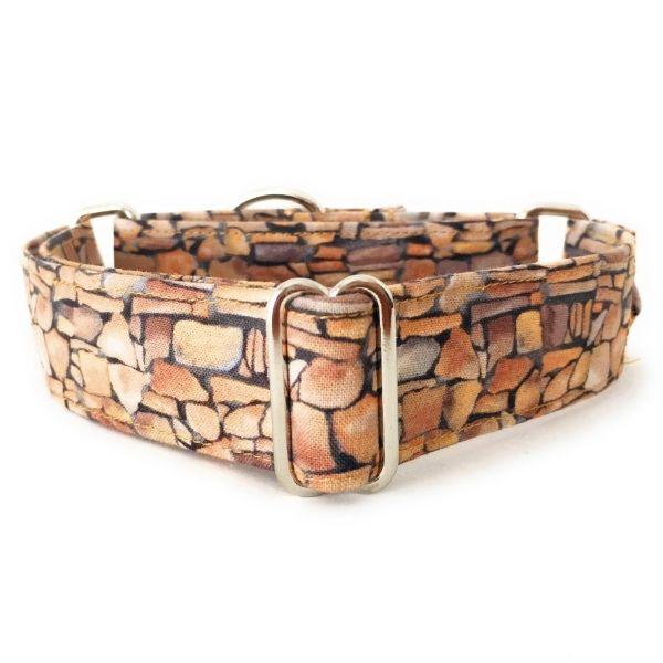 collar perro piedras marron FB-min