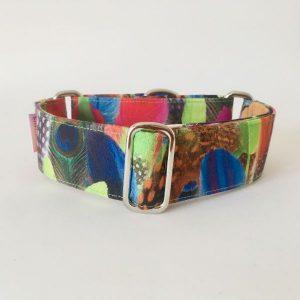 collar perro plumas colores 1-min