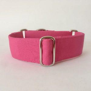 collar perro rosa fluor 1-min