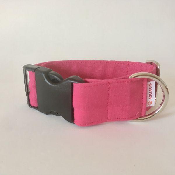 collar perro rosa fluor 6-min