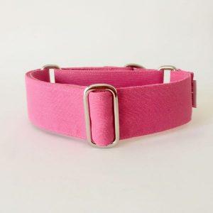 collar perro rosa medio 1-min