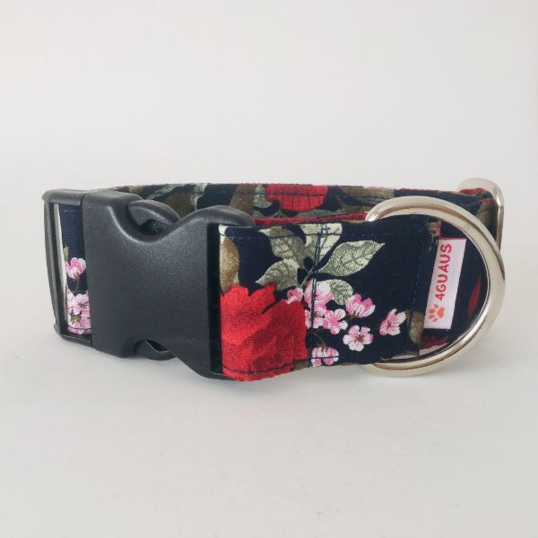 collar perro rosas 8-min