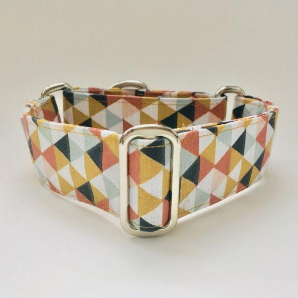collar perro triangulos multicolor n 1-min
