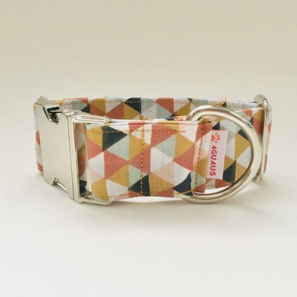 collar perro triangulos multicolor n 4-min