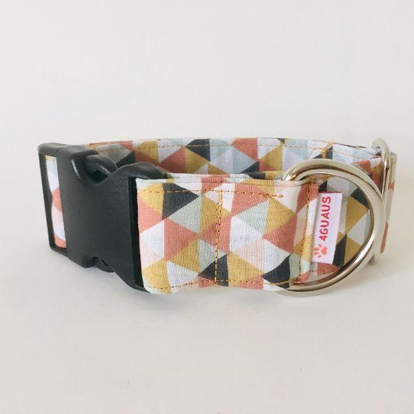 collar perro triangulos multicolor n 6-min