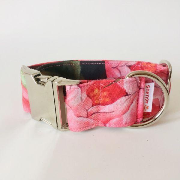 collar perro tulipan rosa 4-min