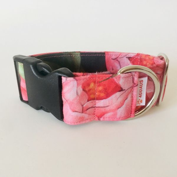 collar perro tulipan rosa 6-min