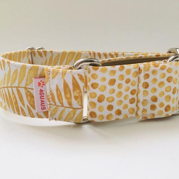 collar perro verano amarillo 2-min
