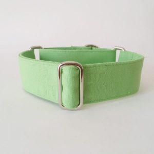 collar perro verde claro 1-min