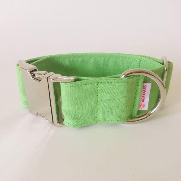 collar perro verde claro 4-min