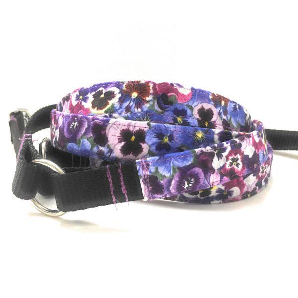 correa perro viola tricolor-min